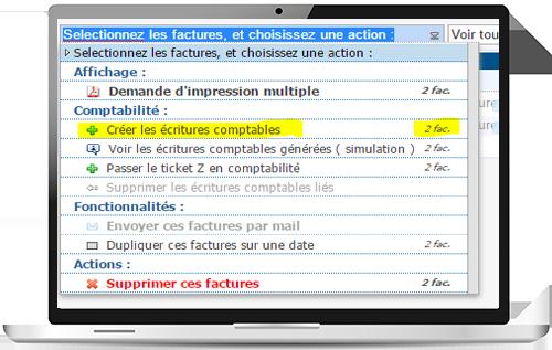 Comptabilité en ligne : intégration du module facturation