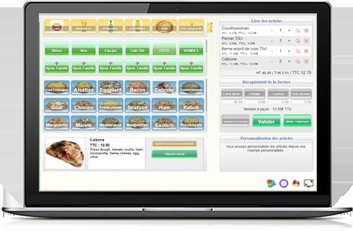 Caisse enregistreuse en ligne : éditer vos tickets de caisse